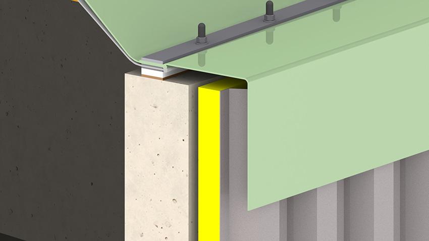 Biogasdak regenrok detailoverzicht
