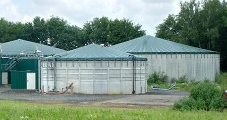 Biogasdaken -Silodaken-Lastrup-Duitsland