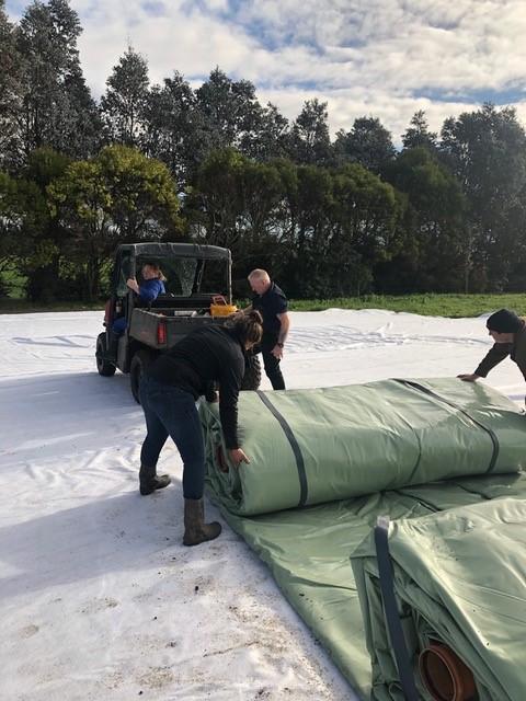 Uitrollen Ecobag Nieuw Zeeland