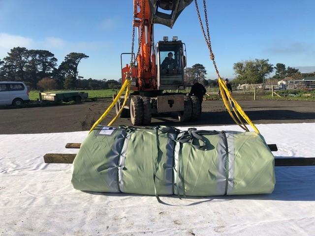 kraan uitkleden Ecobag Nieuw Zeeland