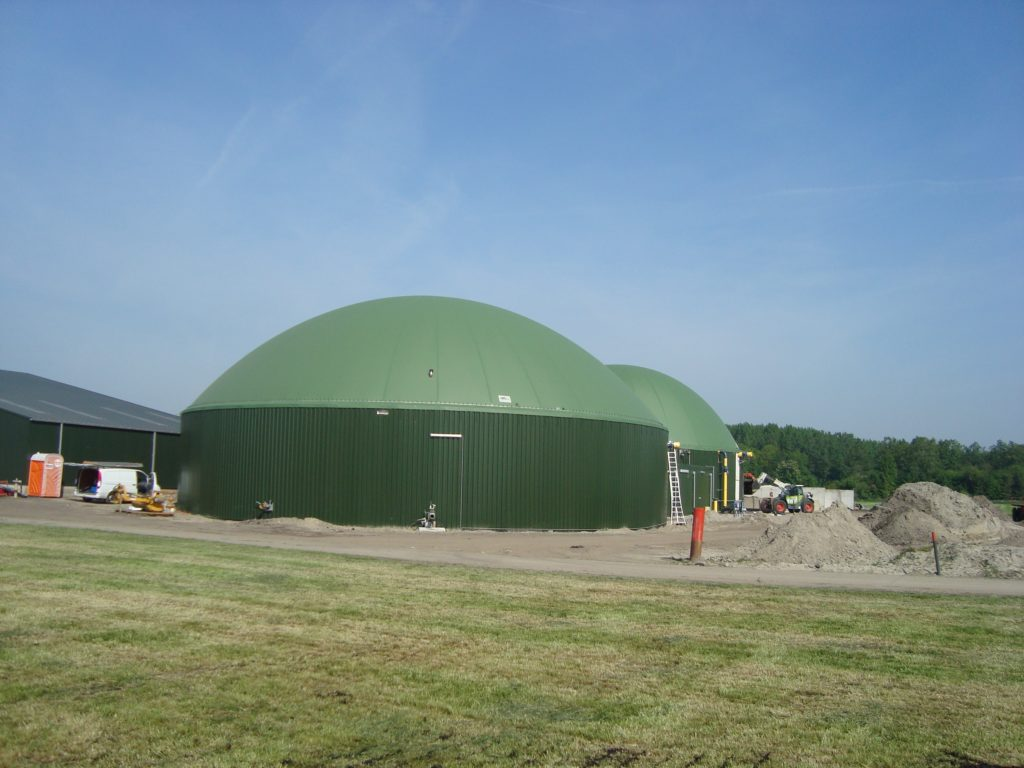 Biogasdak Zeewolde