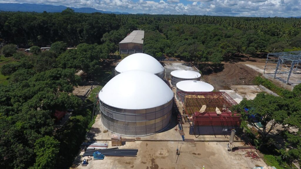 Biogasdak Filipijnen