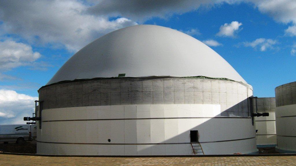 Biogasdak Letland