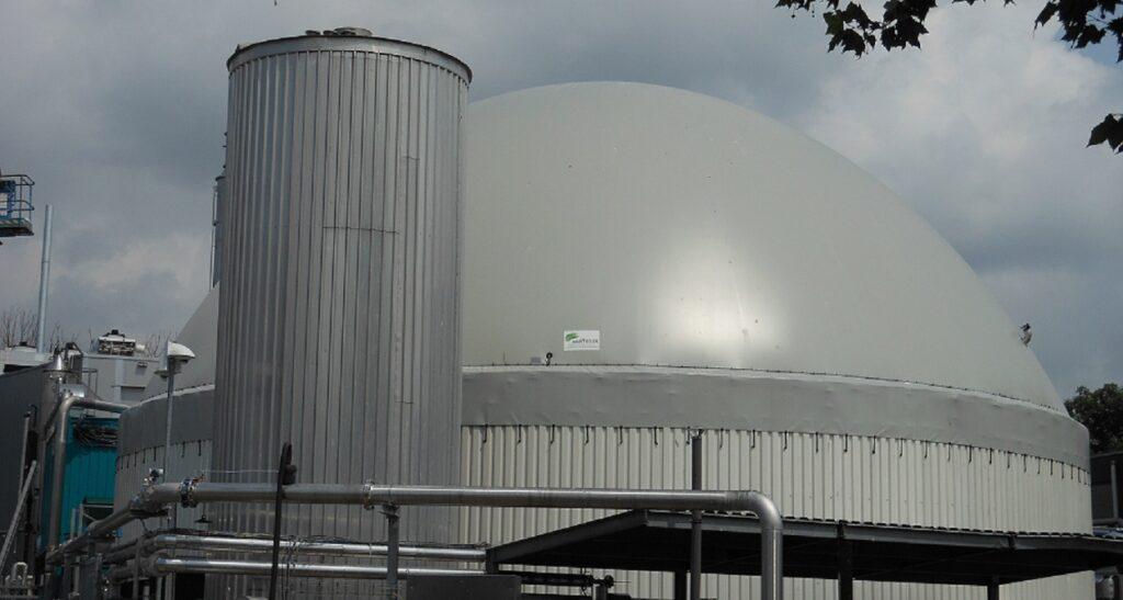 Biogasdak Spakenburg