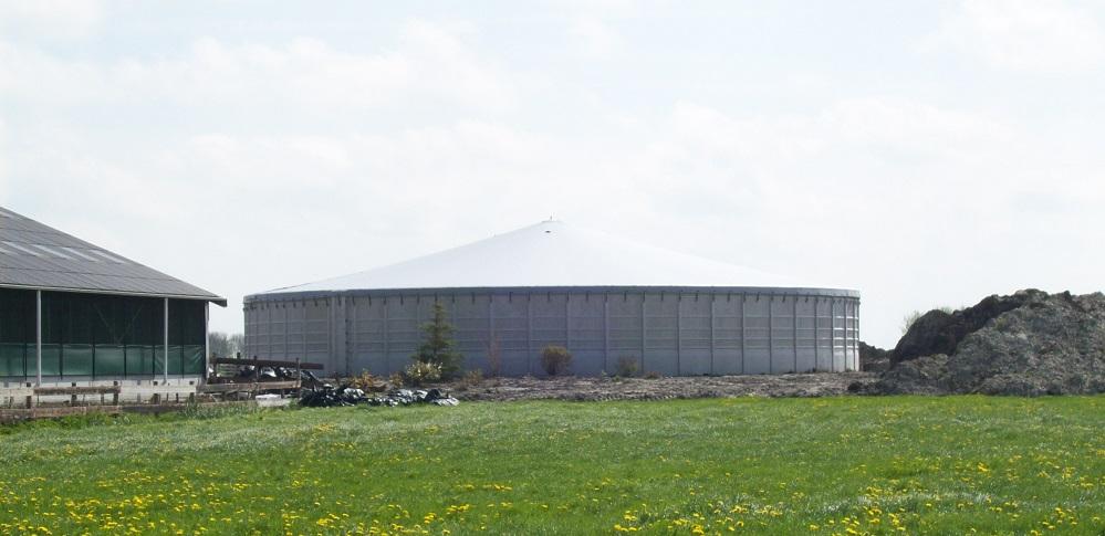 Biogasdak Ferwerd