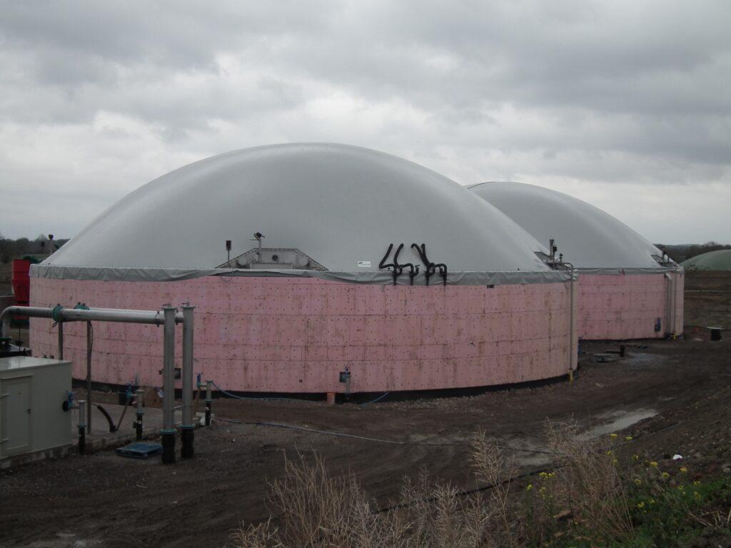 Biogasdak Rotherdale UK