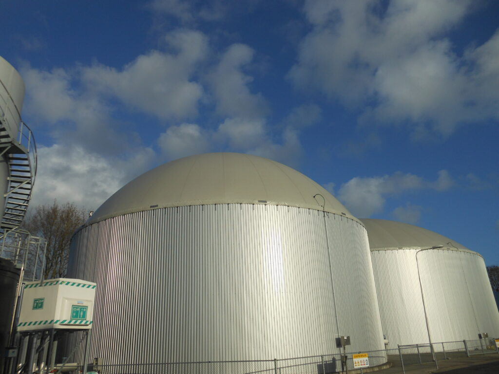 Biogasdak Echten