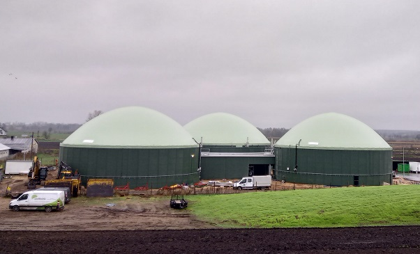 Biogasdak Krypno Wielkie Polen