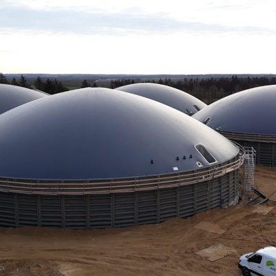 Biogasdak Denemarken Wiefferink