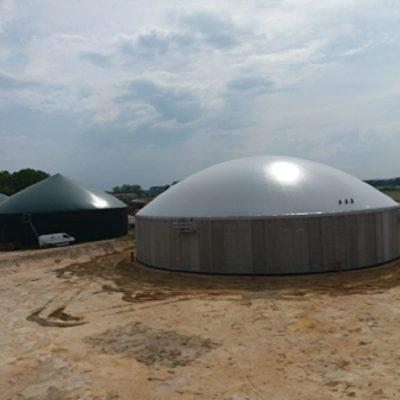 Biogasdak Bombeck Wiefferink