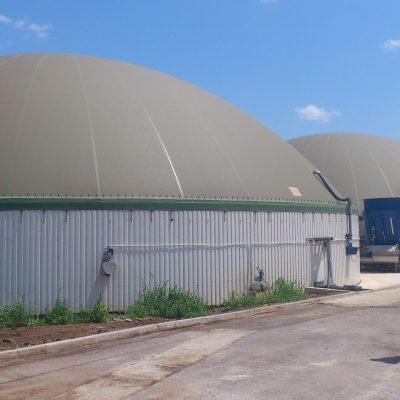 Biogasdak Roemenië